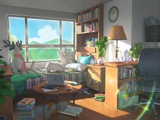 Собирать пазл Солнечная комната онлайн