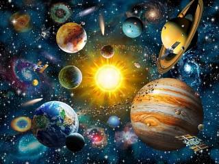 Собирать пазл Солнечная Система онлайн