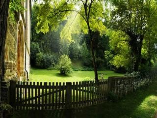 Собирать пазл Солнечное утро онлайн
