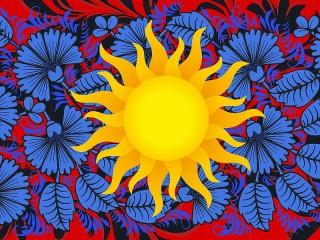 Собирать пазл Солнце онлайн