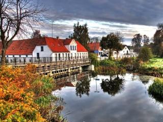 Собирать пазл Сондеборг Дания  онлайн