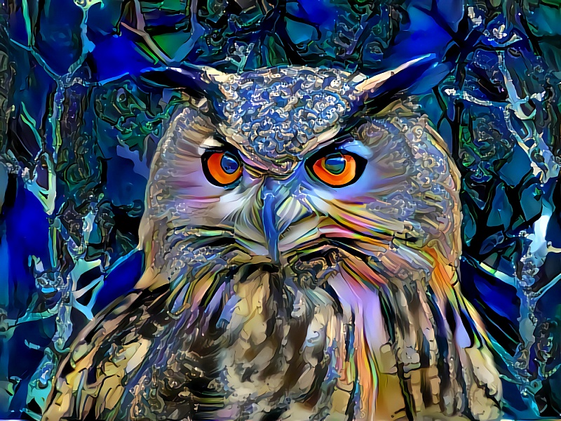 Картинка сова пазлы