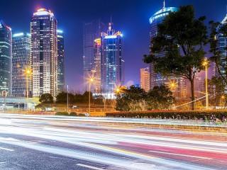Собирать пазл Современный город онлайн
