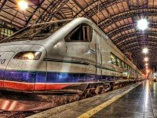 Собирать пазл Современный поезд онлайн