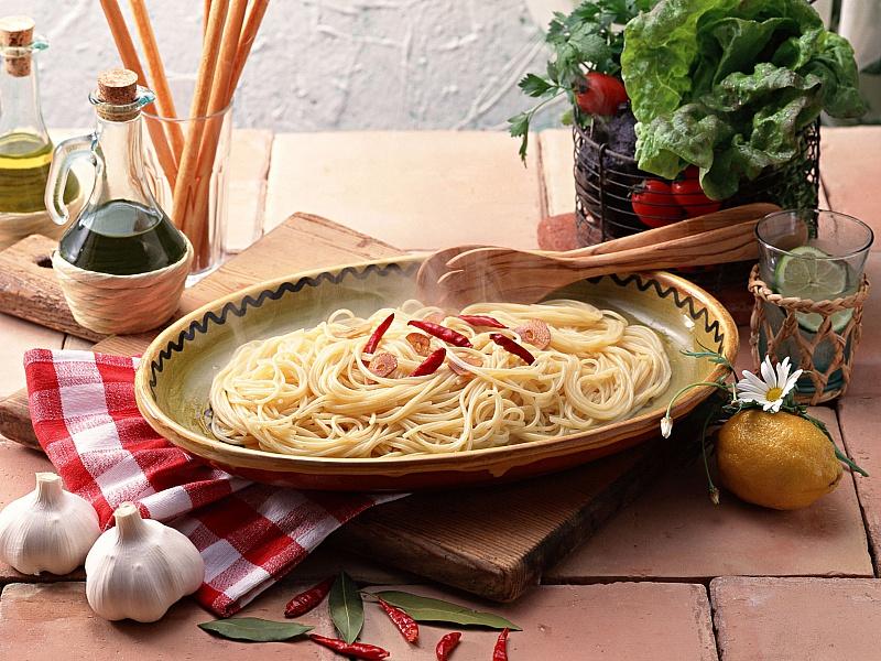 Пазл Собирать пазлы онлайн - Спагетти