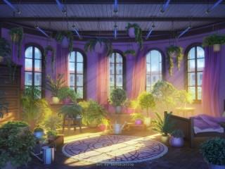 Собирать пазл Спальня ботаника онлайн