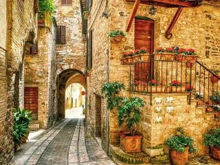 Собирать пазл Спелло Италия онлайн