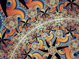 Собирать пазл Спирали и дуга онлайн