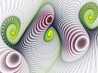 Собирать пазл Спирали онлайн