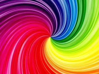 Собирать пазл Спиральная радуга онлайн
