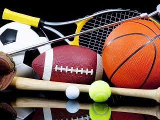 Собирать пазл Спортивный инвентарь онлайн