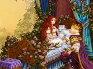 Собирать пазл Спящая красавица 2 онлайн