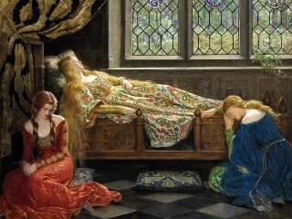 Собирать пазл Спящая красавица онлайн