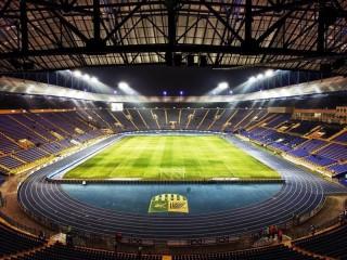 Собирать пазл Стадион онлайн