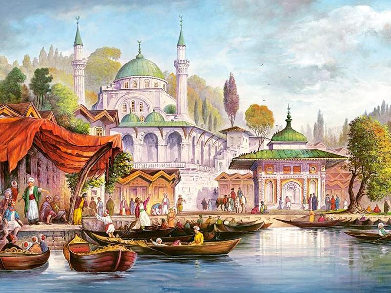 Пазл Собирать пазлы онлайн - Стамбул
