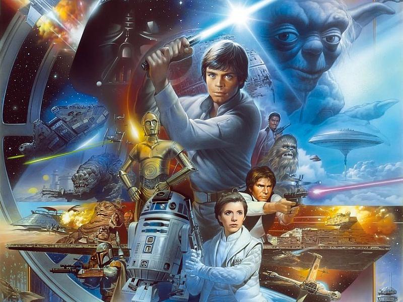 Пазл Собирать пазлы онлайн - Star Wars