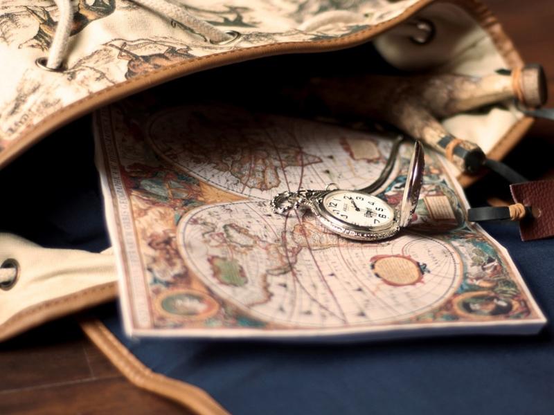 Пазл Собирать пазлы онлайн - Старая карта