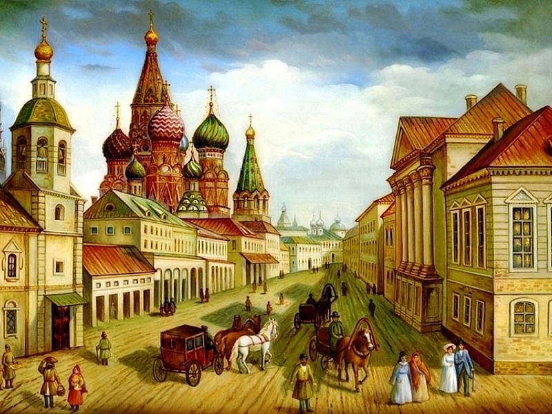 Пазл Собирать пазлы онлайн - Старая Москва