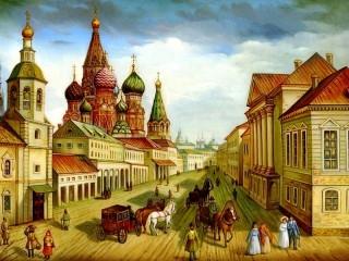 Собирать пазл Старая Москва онлайн