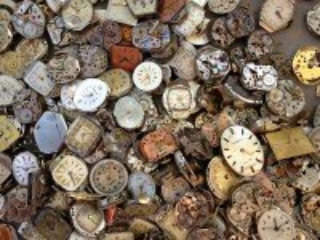 Собирать пазл Старые часы онлайн