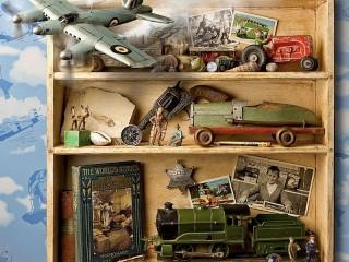 Собирать пазл Старые игрушки онлайн