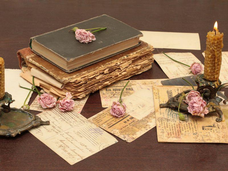 Пазл Собирать пазлы онлайн - Старые книги