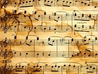 Собирать пазл Старые ноты онлайн