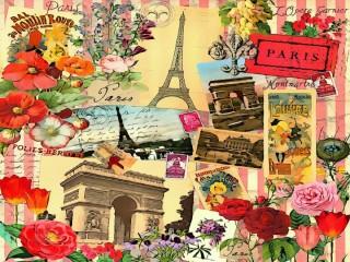 Собирать пазл Старые открытки онлайн