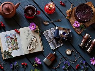 Собирать пазл Стихи о шиповнике онлайн