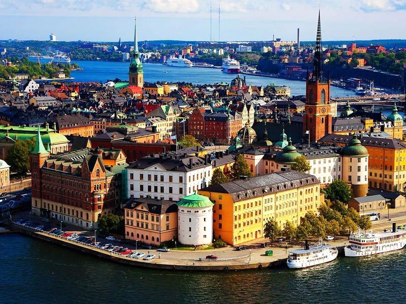 Пазл Собирать пазлы онлайн - Стокгольм