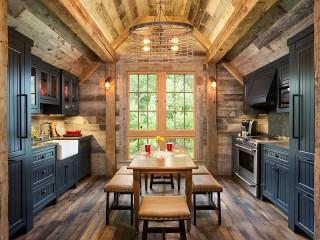 Собирать пазл Стол на кухне онлайн