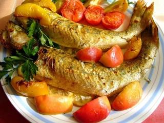 Собирать пазл Судак в овощах онлайн
