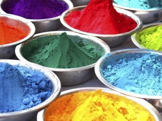 Собирать пазл Сухие краски онлайн
