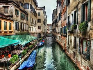 Собирать пазл Сумерки Венеции онлайн