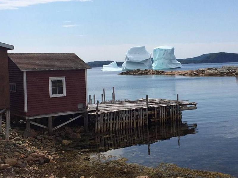 Пазл Собирать пазлы онлайн - Летние айсберги