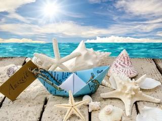 Собирать пазл Сувениры из отпуска онлайн