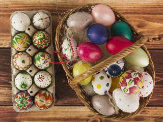 Собирать пазл Сувениры на Пасху онлайн