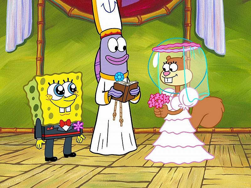 Пазл Собирать пазлы онлайн - Свадьба Спанча