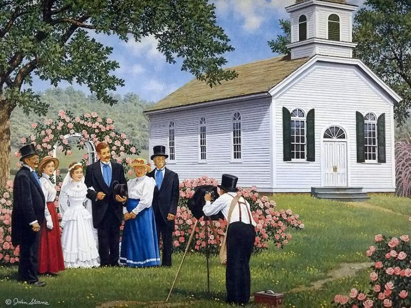 Пазл Собирать пазлы онлайн - Свадебное фото