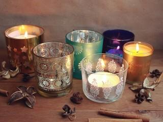 Собирать пазл Свечи онлайн
