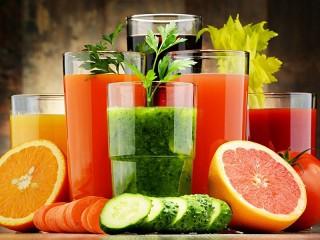 Собирать пазл Свежие напитки онлайн