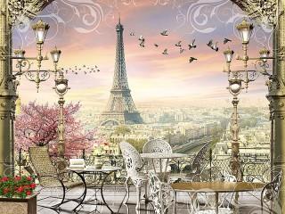 Собирать пазл Свидание с Парижем онлайн