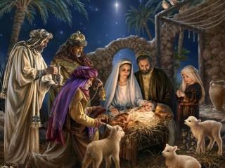 Собирать пазл Таинство Рождества онлайн