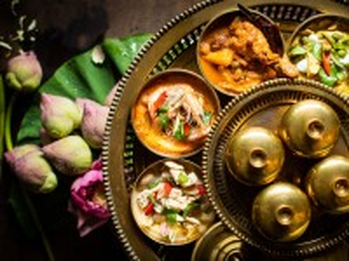 Собирать пазл Тайские блюда онлайн