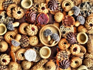 Собирать пазл Такое разное печенье онлайн