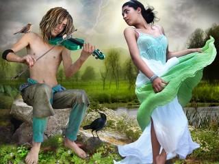 Собирать пазл Танец онлайн
