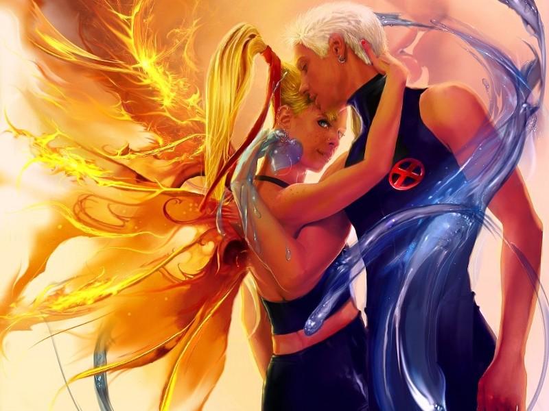 Пазл Собирать пазлы онлайн - Танец влюблённых
