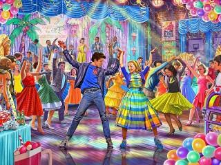 Собирать пазл Танцы онлайн