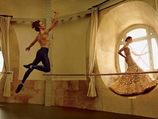Собирать пазл Танцор и красавица онлайн