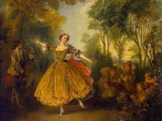 Собирать пазл Танцовщица Камарго онлайн